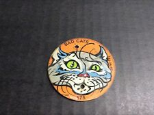 Williams Bad Cats 89 Pinball Machine Playfield 575-24-SP Cat Pop Bumper Plastic!