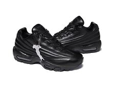NWT DEADSTOCK Supreme Air Max 95 Lux Leather Made In Italy Black Size 11
