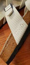 Birkenstock Birks Sandals Blue/white Size 39 leather Slides Sandals Womens