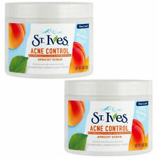 (2 Pack) NEW St. Ives Apricot Scrub Acne Control,10 oz