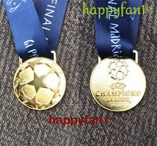 2019 Champions League Medal Liverpool Madrid Final Gold Football Fans New