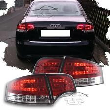 REAR TAIL LED LIGHT RED-CLEAR FOR AUDI A4 B7 04-08 SALOON NEW LAMPS