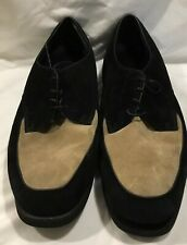 MENS SUEDE Leather Upper Lace Up Comfort Shoes SIZE 15 EW Unbranded