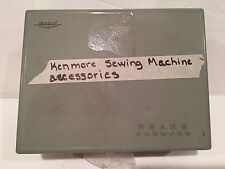 Vtg Sears Kenmore Sewing Machine Various Parts Case