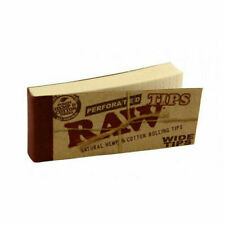 RAW Perforated Wide Tips - (0716165177555)