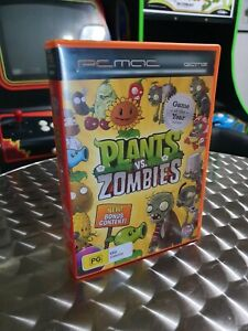 PLANTS vs ZOMBIES Game of the Year Edition CD/DVD ROM  2010 Pop Cap PC/MAC Game