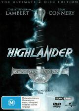 Highlander 1 DVD 1986 Original First Movie Christopher Lambert ULTIMATE EDITION