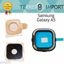 Lente Negra Embellecedor Camara Trasera Repuesto para Samsung Galaxy A5 A500F