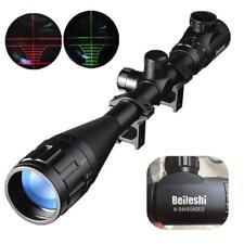 Beileshi Lunette De Visée 6-24x50 avec Lumineux De Réticule Optique Rouge Vert R