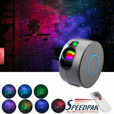 Rotating LED Projector Light Starry Nebula Galaxy Night Lamp Ocean Wave Kid Gift