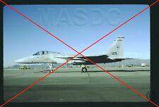 069 - 35mm Kodachrome Aircraft Slide - F-15A Eagle 74-0125 Louisiana Ang in 1990