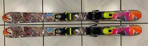 Ski HEAD Twin Tip Länge 118 cm mit Rossignol Bindung inclusive Skiservice