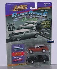 Johnny Lightning Corvettes 2 Pack 1954 Nomad 1995 ZR-1 54 Prototype 95 Vette ==