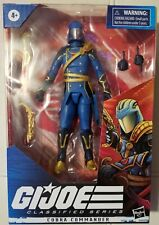 G.I. JOE CLASSIFIED Hasbro Pulse Regal COBRA COMMANDER Variant New Toy In Hand