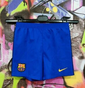 Barcelona Spain Barca Football Soccer Training Shorts Nike Kids Boys 6-7 Years