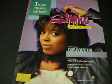 Shanice is the sound of discovery 1987 Promo Poster Ad in mint condition