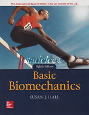 NEW with Color 3 Days to US / CA Basic Biomechanics 8E Susan J. Hall 8th Edition