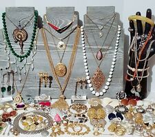 Large Estate Costume Jewelry Lot. Sarah Coventry, Trifari, Mimi Di N, FO Inc