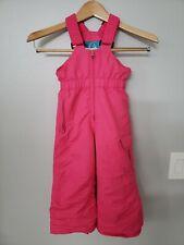 Pulse Children's pink Ski / Snow Pants Bibs ,Size toddler 3T  ,Adjustable straps
