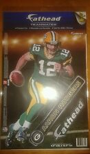 Aaron Rodgers fathead teammates Green Bay Packers