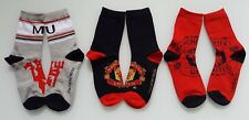 (soc536) man utd brand new official Manchester United socks size 12.5 - 2 BNIP