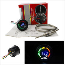 "2"" 52mm Gasoline Car Off-Road Exhaust Gas Temperature Digital 20 LED Gauge Meter"