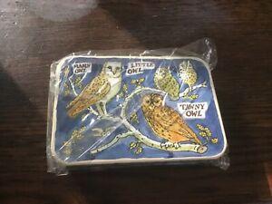 Emma Bridgewater Bird Families Pocket Tins, 11x7.5x2.5cms, Owls