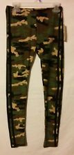 Kid Girl Bobbie Brooks Large L 10-12 Camouflage Double Stripes Lounge Pants Nwt