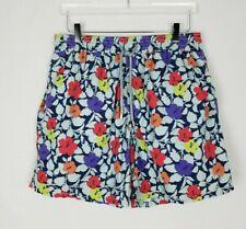 VILEBREQUIN MENS Swim Shorts Trunks Bright Colors Floral Flowers Size XXL 2XL