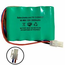 12v 2000mAh Ni-MH Battery Pack Replacement for Medical Ceiling Lifts