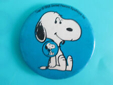 Vintage Snoopy Pinback Button 1958 United Feature Syndicate Inc. peanuts