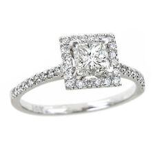 Anelli con diamanti g di oro bianco VS1