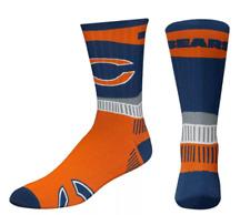 Chicago Bears Orange & Navy Sport Fan Crew Socks
