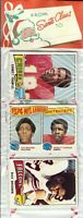 1975 Topps Football Holiday Christmas Rack Pack HOF Rookie RC Lynn Swann Poss?B4