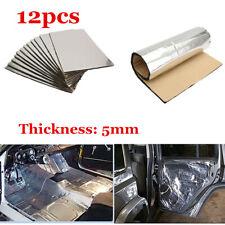 Silver 1.8m2 19sqft Car Sound Deadening Mat Sound Deadener Insulation Universal