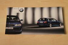 69581) BMW 3er Reihe E46 + Touring Edition Lifestyle Prospekt 01/2003