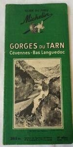 Guide Michelin 1955 / Gorges du Tarn