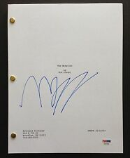 MICKEY ROURKE SIGNED FULL 117 PAGE THE WRESTLER MOVIE SCRIPT PSA DNA COA