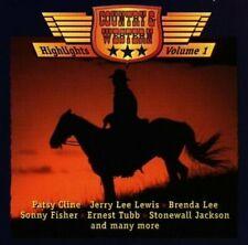 Country & Western Highlights 1 (1997, #cbu62514) | CD | Bob Luman, Stonewall ...
