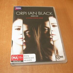 ORPHAN BLACK - SERIES 1 ( DVD, 3 Disc Set Region 4 )