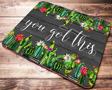 CACTUS Mouse Pad With Quote You Got This Coworker Gifts Office Desk Accessories