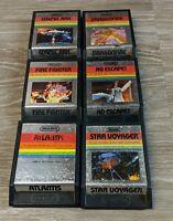 Lot of 6 Atari 2600 Imagic Games Tested