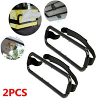 2x Car SUV Truck Sun Visor Tissue Box Holder Paper Napkin Seat Back Clip Bracket