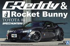 2012 Toyota 86 Greddy & Rocket Bunny Volk Racing 1:24 Model Kit Aoshima 050941