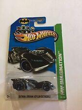 2012 Hot Wheels HW Imagination Batman Arkham Asylum Batmobile #63/250