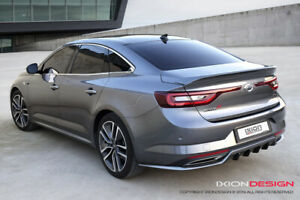 FRP Rear Lip Style Body kit Parts Unpainted For Renault Talisman 2015~
