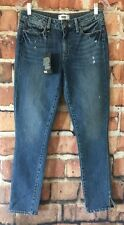 Paige Womens Hoxton Ankle Peg Jeans High Rise Ankle Skinny Size 26 (W33)