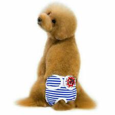 ✅ Läufigkeitshose Hundewindel Waschbar Hygienehose Schutzhose Hund Hose S-XL DHL