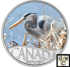 2017 $10 FINE SILVER COIN CELEBRATING CANADA'S 150TH:GREAT BLUE HERON(NT)(17845)