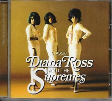 DIANA ROSS and the SUPREMES - Classic CD Album 18TR UK (SPECTRUM) 2008